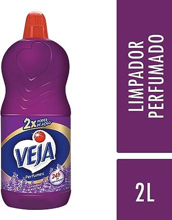 Limpador Perfumes Lavanda e Bem-Estar, Veja, 2 L