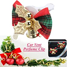 1pc Christmas Flower Car Fragrance Air Freshener Perfume Clip Auto Air Conditioning Vent Outlet Clip