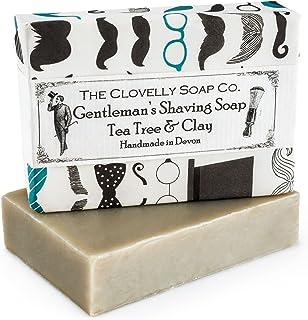 Clovelly Soap Co. Handgemachte Herrenrasur Naturseife für alle Hauttypen 100g