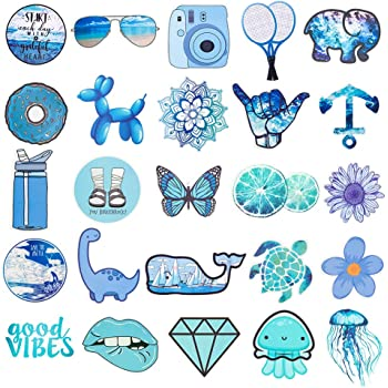 Amazon Com Cute Vsco Stickers For Water Bottles Hydro Flask Stickers Laptop Stickers Waterproof Aesthetic Vinyl Stickers For Kids Teens Cool Stickers For Hydro Flask Water Bottles Skateboard Computer Phone Computers Accessories