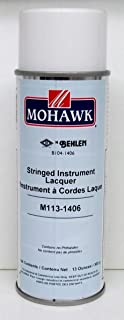 Guitar and Stringed Instrument Lacquer Clear Gloss Mohawk M113-1406 Behlen B104-1406 13 oz Aerosol (1)