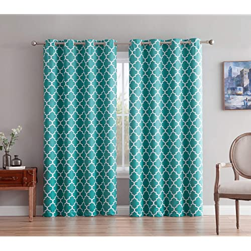 Teal Window Curtains: Amazon.com