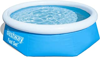 comprar comparacion Bestway FastSet Pool Set Piscina Desmontable Autoportante, 244x66 cm