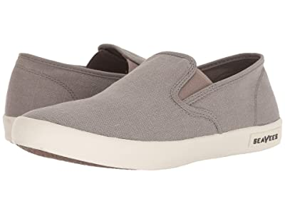 SeaVees 02/64 Baja Slip-on Standard (Tin Grey Vintage Wash Linen) Men