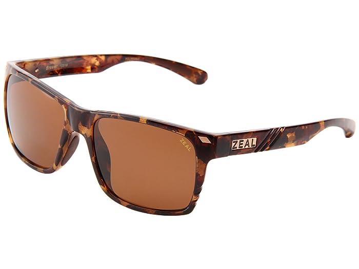 Zeal Optics  Brewer (Colorado Tortoise withCooper Polarized Lens) Sport Sunglasses