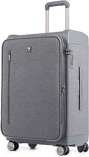 Uniwalker 容量拡張機能 スーツケース 防水加工 ソフト キャリーケース 軽量 丈夫 TSAロック トランク 旅行 出張 ビジネスキャリーバッグ 機内持込