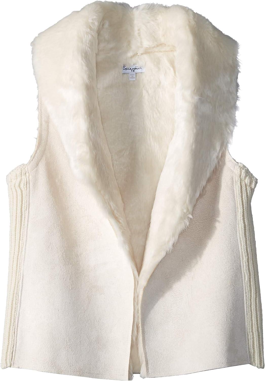 Splendid Baby Girls' Faux Fur Vest: Clothing
