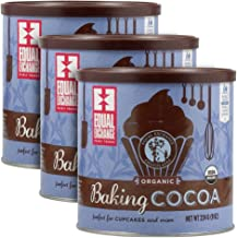 Equal Exchange Organic Baking Cocoa, 8-Ounce (Pack of 3)