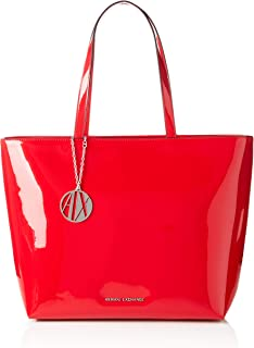 A|X Armani Exchange Zip Top Shoulder Bag, Rosso-red 24