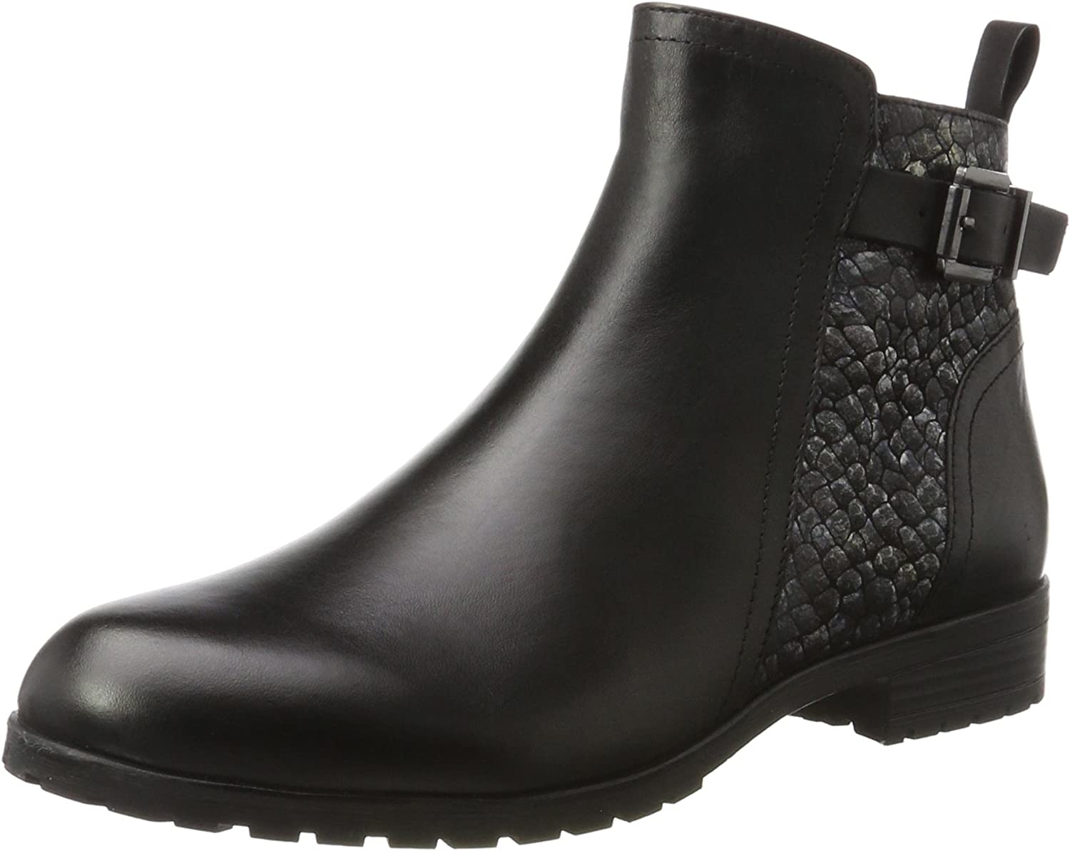 Caprice Buckle Chelsea Boot Womens Ankle Boots