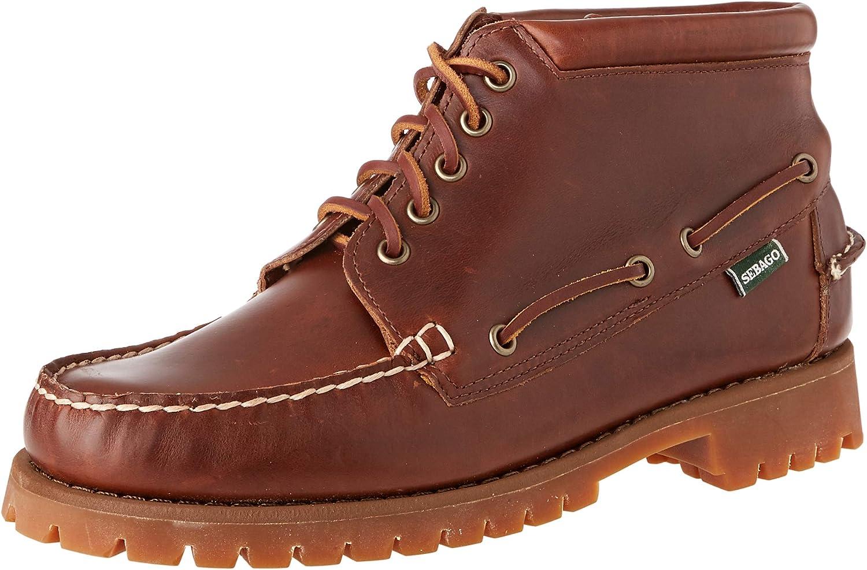 Sebago Men's 商品 Ankle 絶品 Boots Classic
