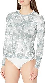 Kanu Surf womens Keri Long-sleeve Upf 50+ Rashguard Rash Guard Shirt (pack of 1)