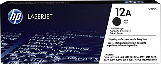 HP 12A | Q2612A | Toner Cartridge | Black