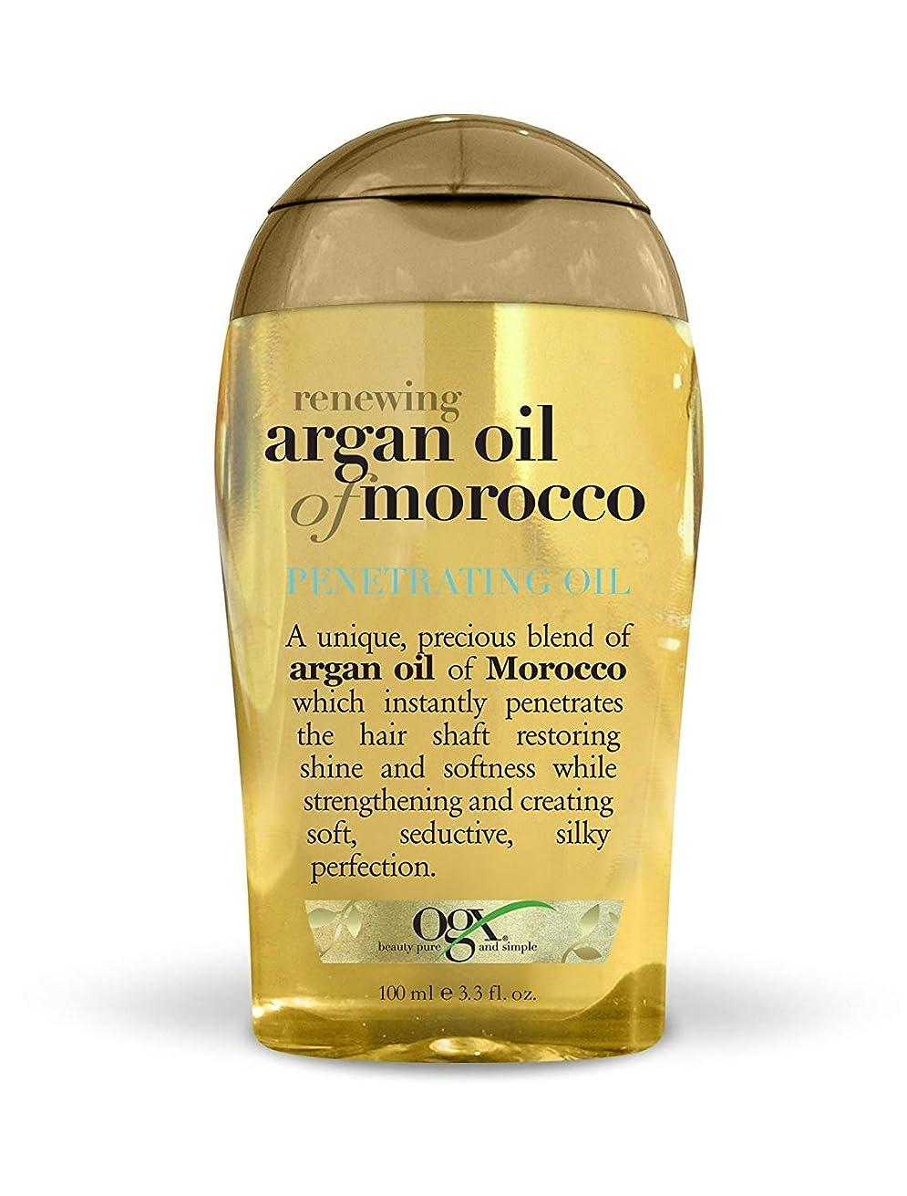 粘着性普及累計Organix Moroccan Argan Oil Penetrating Oil 100 ml x 2 パック (並行輸入品)