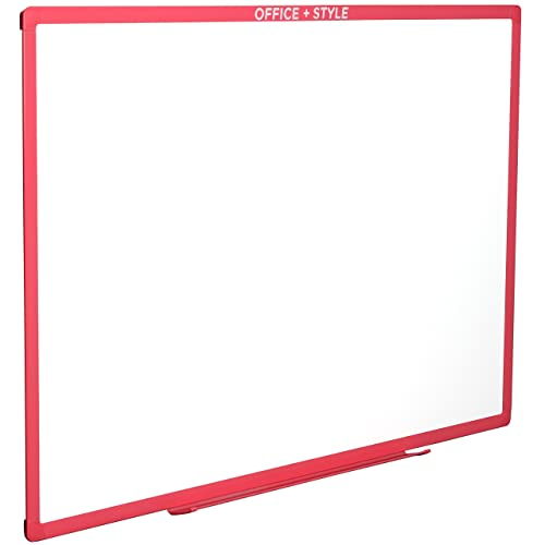 Pink Whiteboard Office Equipment & Supplies