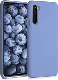 kwmobile telefoonhoesje compatibel met OnePlus Nord - Hoesje met siliconen coating - Smartphone case in lavendelgrijs