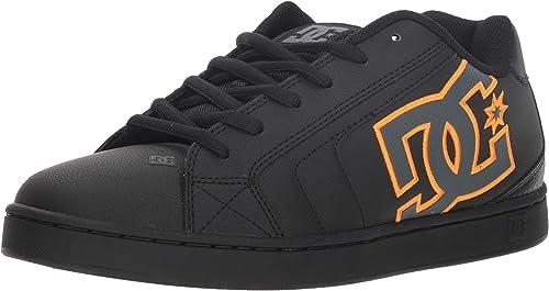 DC zapatos Men's Net SE Low Top Turnzapatos zapatos negro Battleship Blk