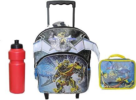 New Transformer Rolling Backpack w bonus lunch case