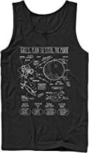 Despicable Me Men's Gru Plans to Steal Moon Tank Top