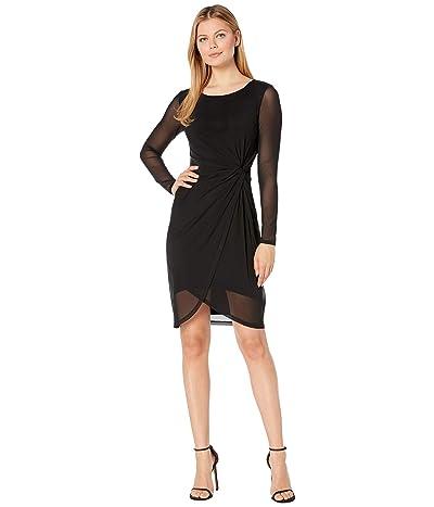 Karen Kane Twiggy Twist Dress (Black) Women