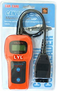 LYL U480 Car Auto Diagnostic Scanner OBD2 OBDII CAN-BUS Code Reader Memoscanner