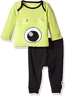 Disney Baby Monsters Inc - Juego de Pantalones de 2 Piezas para niño