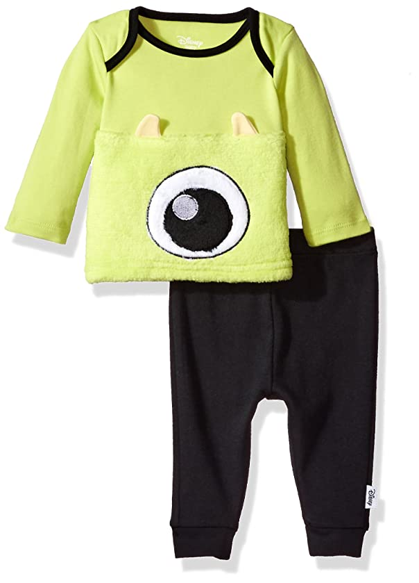 Disney Baby Boys' Monsters Inc 2-Piece Pant Set