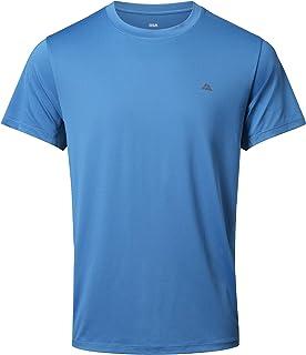 DANISH ENDURANCE Men's Active T-Shirt for Sport, Fitness, Workout & Running, Short-Sleeved Gym Wear, Moisture-Wicking, Sho...