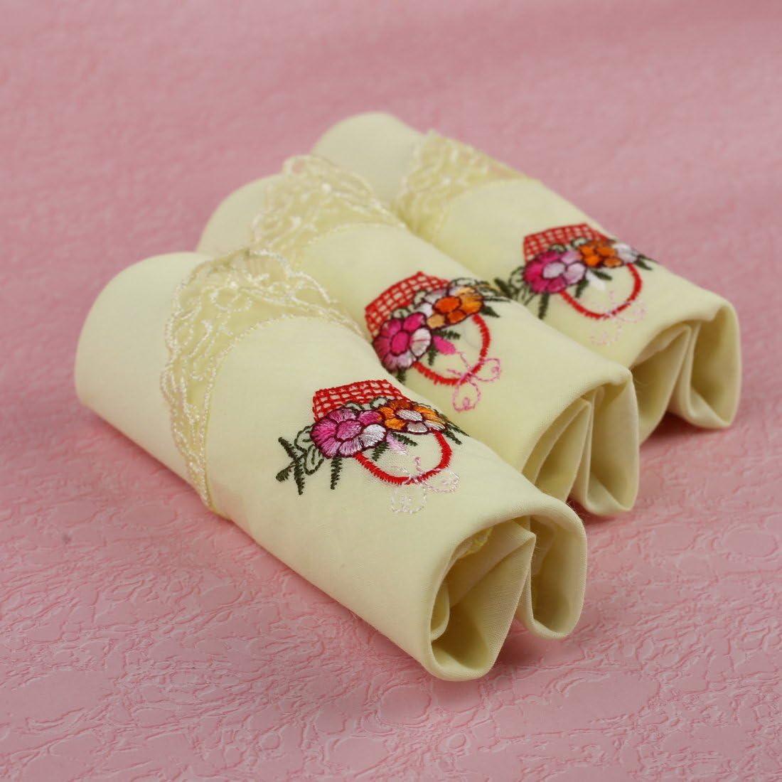 FashionOn Men Fashionon Patterns Cotton for Girls 3 Hanky Set
