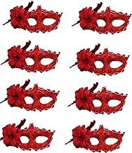 Venezianische Masken, halbe Masken, Kostüme, Party-Zubehör