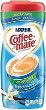 Coffee-Mate Coffee Creamer Sugar Free French Vanilla - PACK OF 18