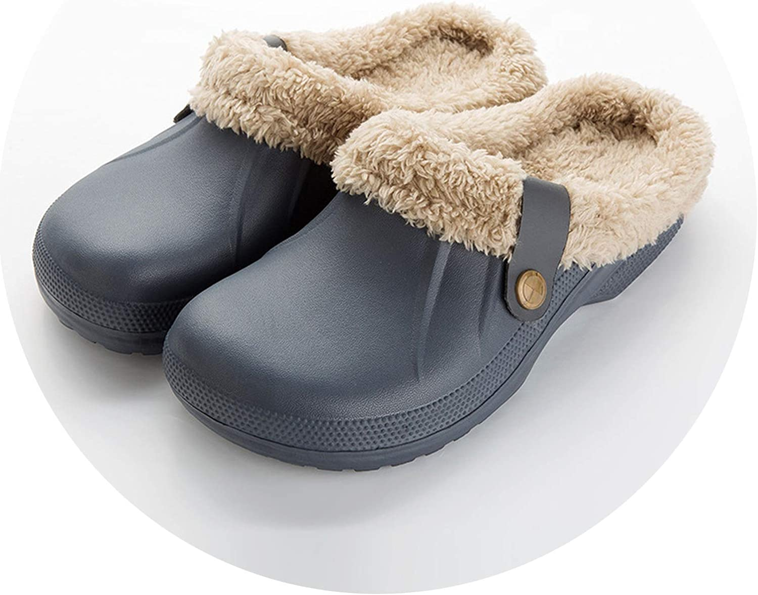 bluee-shore Winter Warm Slippers Indoor Soft shoes with Fur Home Floor Women's Sandals Slipper