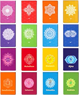 48 Pieces Chakra Magnetic Bookmarks 16 Styles Magnet Page Markers Colorful Magnetic Page Clips for School Office Home Read...