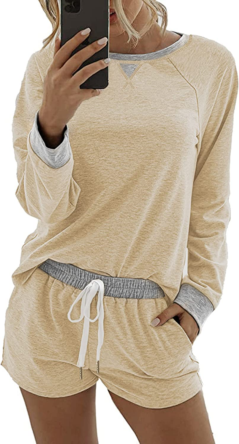 Fixed price for sale Lingswallow Pajama Set Women Sleeve Sets Long Popular product Short -