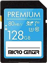 Premium 128GB SDXC Card by Micro Center, Class 10 SD...