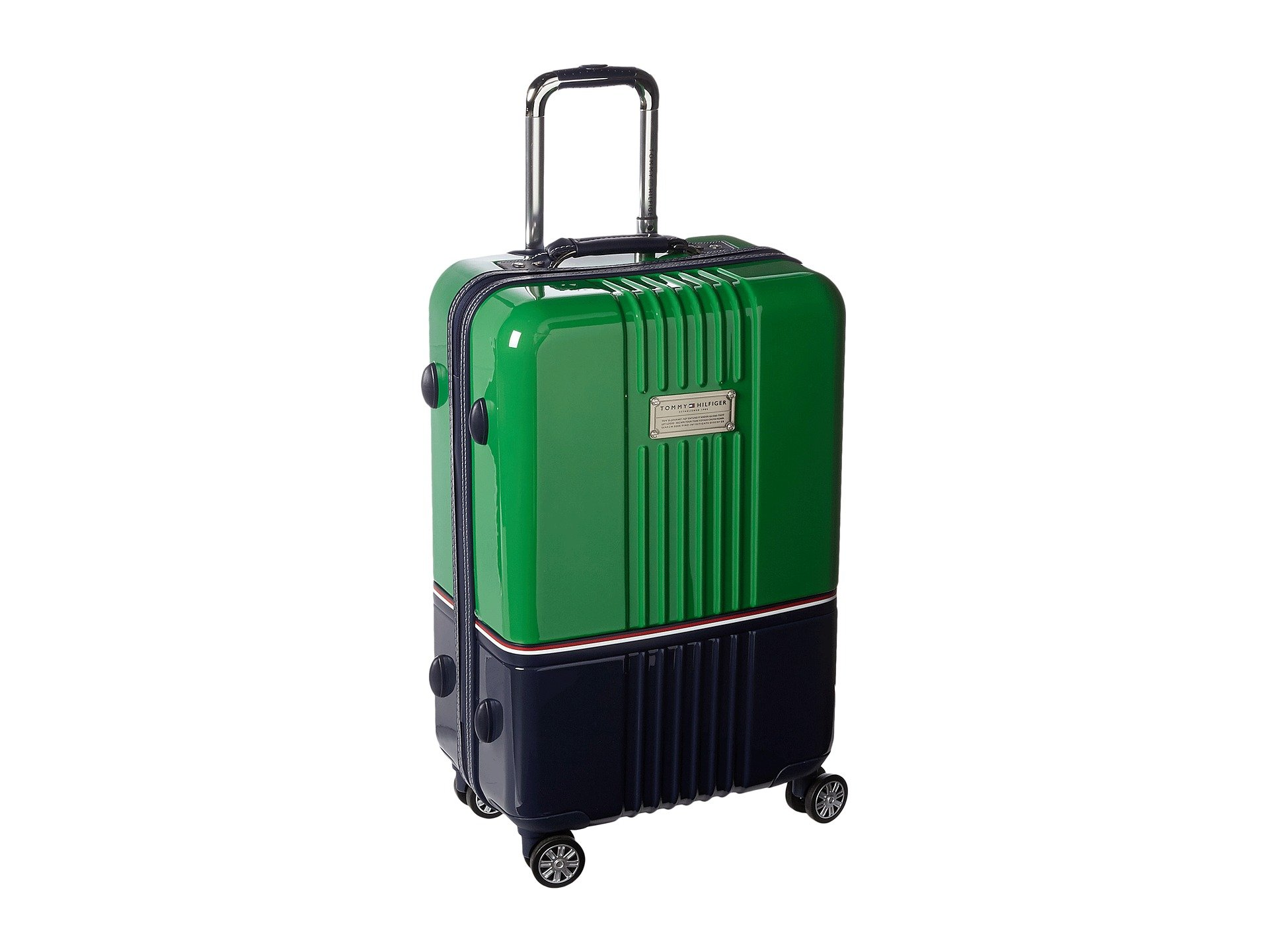 "Duo Chrome 24"" Upright Suitcase, GREEN/NAVY"