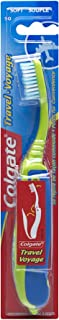 Colgate Travel Toothbrush, Soft Colors May Vary (Pack of 12)