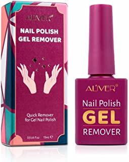 Sponsored Ad - Gel Nail Polish Remover, Professional Nail Polish Remover, Take Effect in 3-6 Minutes Easily, No Need Tin F...
