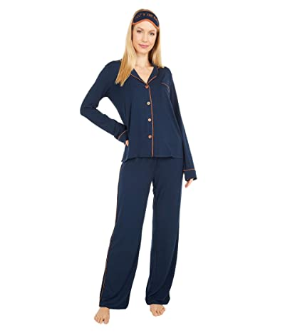 P.J. Salvage Modal Basics PJ Set (Navy) Women