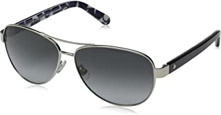 Kate Spade Women's Dalia 2 Aviator Sunglasses, Silver...