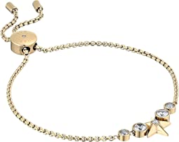 Michael Kors Brilliance Slider Bracelet w/ Centered Star
