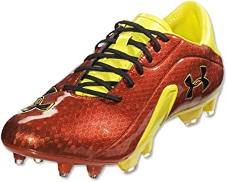 418dc10e8a7 Under Armour Men s Blur III Soccer Cleat Vivid Sunbleached Black
