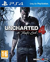 Uncharted 4: A Thief's End (PS4)- Older version