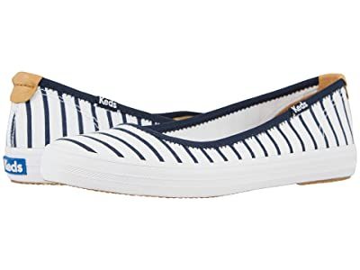 Keds Bryn Seasonal Solids (White/Navy) Women