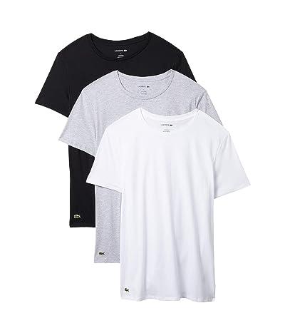 Lacoste 3-Pack Crew Neck Regular Fit Essential T-Shirt Men