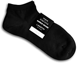 L.Martin Pima Cotton Hiking Running Athletic Ankle Socks for Men Women | 4 Color