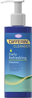 Differin Daily Refreshing Cleanser, 1 pack, 6 fl oz