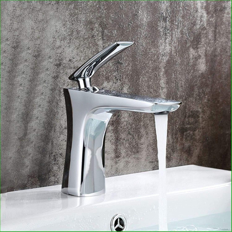 ETERNAL QUALITY Bad Waschbecken Wasserhahn Küche Waschbecken Wasserhahn Kupferchrom Warmes Und Kaltes Beckenmischwasser Waschtischmischer BQ1288ca