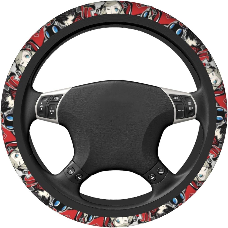 yunsu Per-Sona 5 Steering Wheel Universal Microfiber Cover Max 40% OFF Cheap Sale 64% OFF Soft