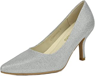aba24556a33f DREAM PAIRS Women s Kucci Classic Fashion Pointed Toe High Heel Dress Pumps  Shoes